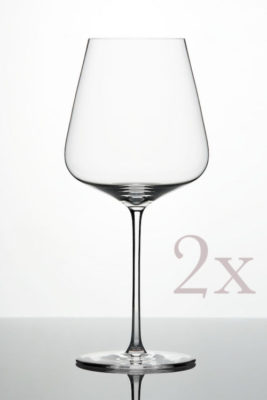 ZALTO Bordeaux-Glas 2er Pack